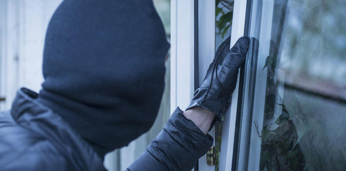 What to Do After a Burglary Infographic
