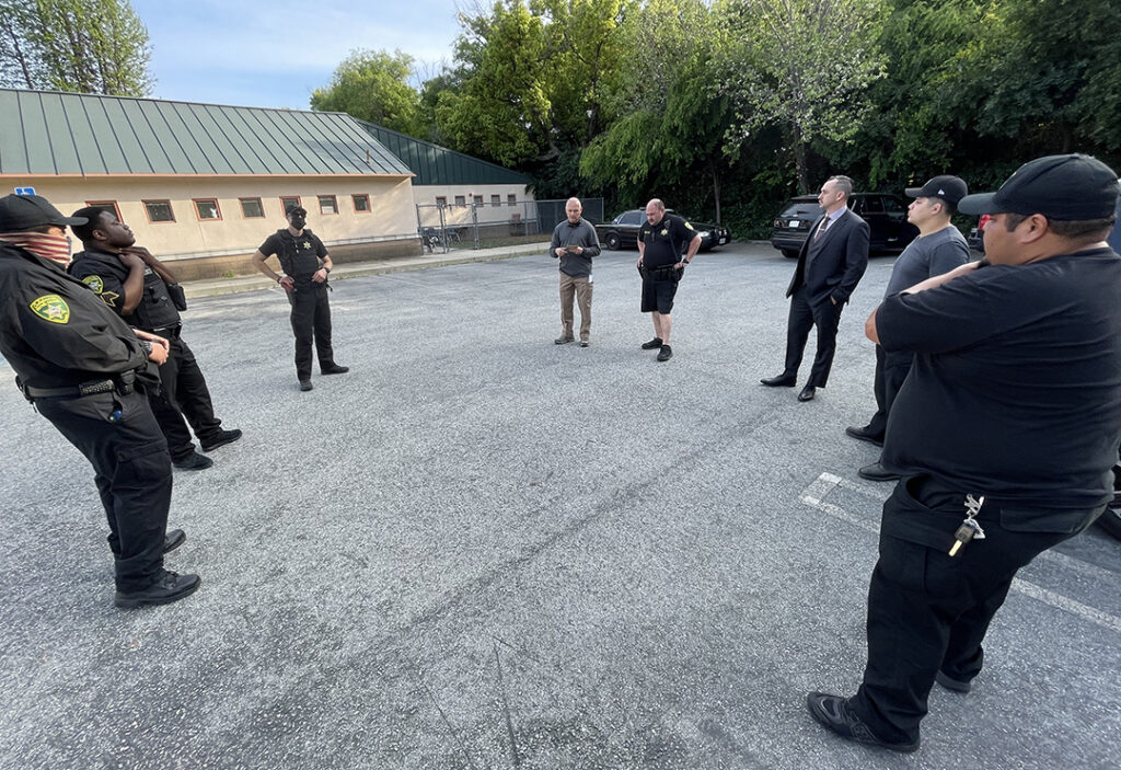 Security Officer Tactical Training